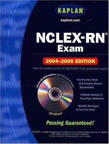 Kaplan Nclex-Rn Exam 2004-2005