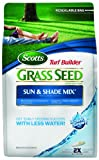 Scotts 18115 Turf Builder Sun and Shade Grass Seed Mix Bag, 3-Pound (Not for sale in Louisiana)