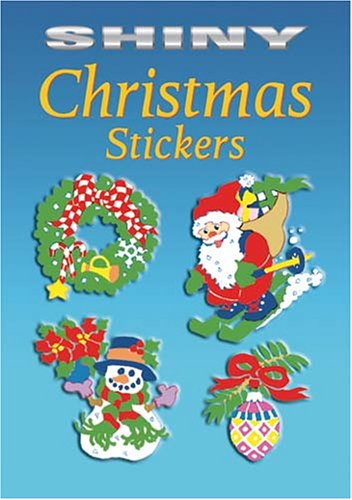 Shiny Christmas Stickers (Dover Little Activity Books Stickers)