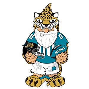 Forever Collectibles NFL Jacksonville Jaguars Team Thematic Garden Gnome