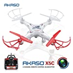 Akaso X5C 4CH 2.4GHz 6-Axis Gyro Head...