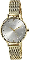 Skagen End-of-Season Anita Analog Silver Dial Womens Watch - SKW2150
