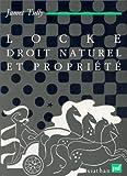 Locke, droit naturel et propriété (French Edition) (2130444202) by Tully, James