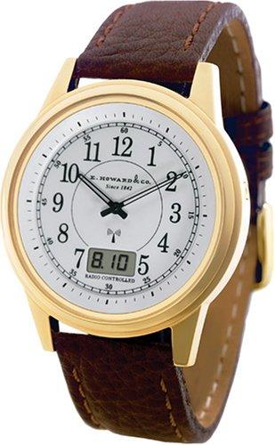 E. Howard EH-23GA Gold Atomic Watch