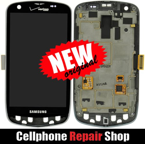 Samsung Droid Charge I510 ~ Full Lcd Screen Display + Touch Screen Digitizer Front Glass Faceplate Lens Part Panel Assembled Together ~ Mobile Phone Repair Parts Replacement