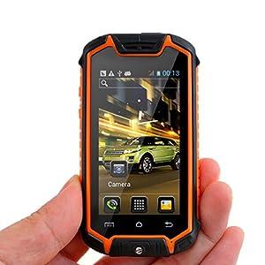 Discovery Z18 Mini Unlocked Smartphone Android 4.0.4 Dual SIM Dual Core Waterproof Dustproof Shockproof 2.45
