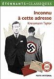vignette de 'Inconnu à cette adresse (Kathrine Kressmann Taylor)'