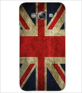 PrintDhaba UK Flag D-2046 Back Case Cover for SAMSUNG GALAXY A7 (Multi-Coloured)