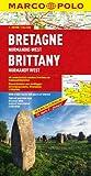 MARCO POLO Karte Frankreich 02. Bretagne, Normandie-West 1 : 300 000