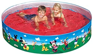 Happy people 18517 piscina disney clubhouse con parete - Amazon piscina bambini ...