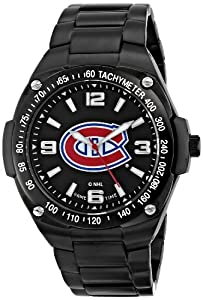 Game Time Mens NHL-GLA-MON Gladiator Triple Black Analog Display Japanese Quartz... by Game Time