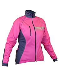 Impsport Polar Winter Cycling Jacket - High Visibility Fluorescent Pink - Womens/Ladies Sizes