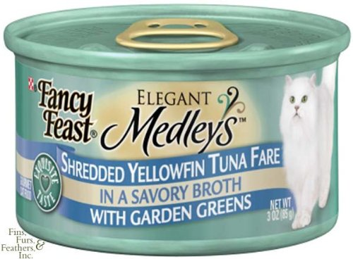 Fancy Feast Elegant Medley`S Shreeded Yellowtail Tuna Fare W