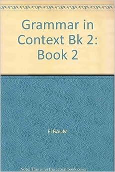 grammar in context 2 sandra n elbaum pdf