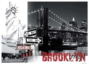 Nathan - 87738 - Puzzle Classique - 1500 Pièces - Brooklyn