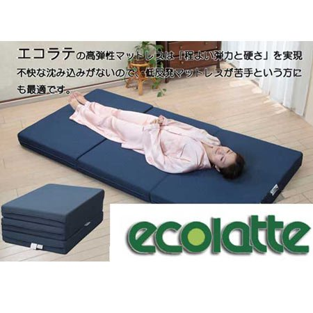 エコラテ Type-N 3つ折 セミダブル