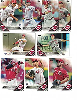 Cincinnati Reds / Complete 2016 Topps Series 1 Baseball Team Set. FREE 2015 Topps Reds Team Set WITH PURCHASE!