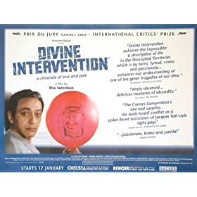 DIVINE INTERVENTION ORIGINAL MOVIE POSTER