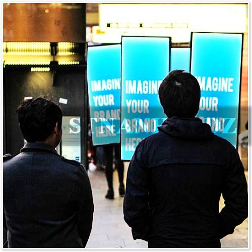 Stnanhai Alibaba Manufacturer,Indoor/Outdoor Out Door Signage Display,Internal Led Indoor Or Outdoor Battery Powered For Independence Day Promotion