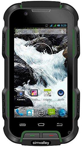 SimValley Mobile - Smartphone anti-chocs Android 4.2 et écran 4'' : SPT-900