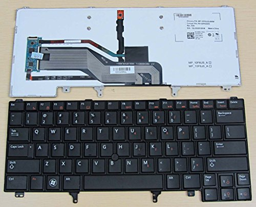 Click to buy Dell Latitude E6320 BACKLIT E6330 E6420 E6430 E6440 E5420 CN5HF 0CN5HF Keyboard With POINTER - From only $79.65
