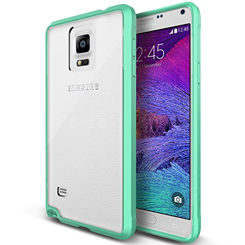 Galaxy Note 4 Case, Verus [Clear Drop Protection] Samsung Galaxy Note 4 Case [Crystal Mixx][Mint] Premium Slim Fit Dual Layer Transparent Hard Case - At&T, Sprint, T-Mobile, International, And Unlocked - Case For Samsung Galaxy Note Iv Sm-N910S Late 2014