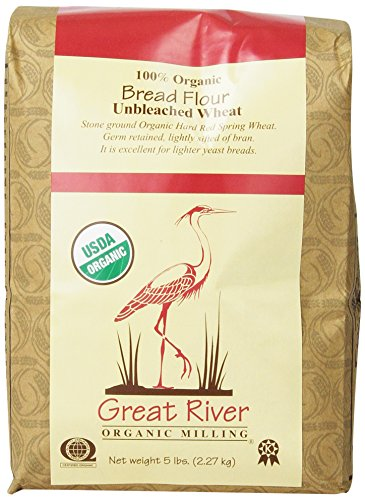 Great-River-Organic-Milling-100-Organic-Bread-Flour-Unbleached-Wheat-5-Pound-Bags-Pack-of-4