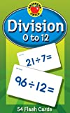 Division 0 to 12 Learning Cards (Brighter Child Flash Cards)