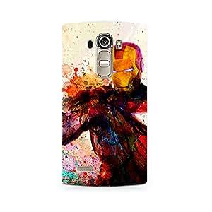 Ebby Iron Man Premium Printed Case For LG G4