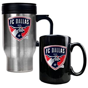 FC Dallas Coffee Cup & Travel Mug Gift Set