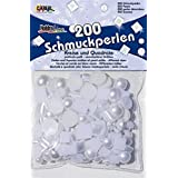 Mother Of Pearl White Circles And Squares 200 Pieces