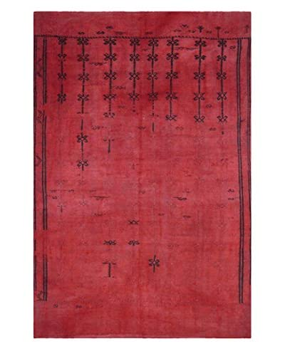 "nuLOOM Smithfield Flat Woven One-of-a-Kind Rug, Red, 5' 1"" x 8' 3"""
