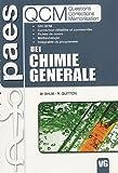 echange, troc M.Shum, R.Guitton - Chimie générale UE1 : questions, corrections, mémorisation