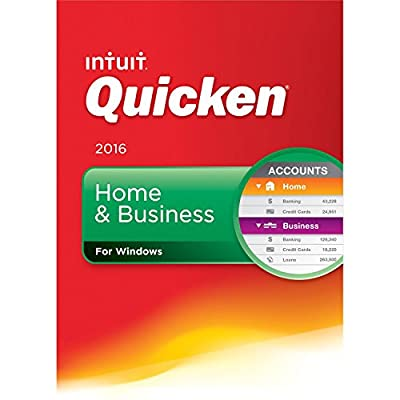 Quicken Home & Business Edition 2016