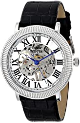 Invicta Men's 17243 SPECIALTY Analog Display Mechanical Hand Wind Black Watch