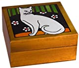 White Cat Secret Spin Box