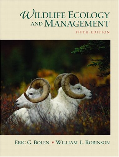 Wildlife Ecology and Management (5th Edition)