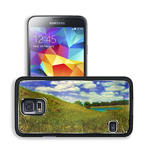 Wilderness Outdoor Grass Fields Cloudy Samsung Galaxy S5 Sm-G900 Snap Cover Premium Aluminium Design Back Plate Case Open Ports Customized Made To Order Support Ready 5 8/16 Inch (140Mm) X 3 2/16 Inch (80Mm) X 11/16 Inch (17Mm) Msd S5 Professional Cases A
