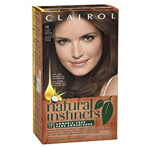 Clairol Natural Instincts  14 Tweed Light Cool Brown 1 Kit  (Pack of 3) (packaging may vary)
