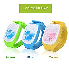 MINS GPS Child Locator Android Smart Watch Life Waterproof Children Positioning Watch Phone - Mini Child GPS Bracelet GPS Watch Sports GPS Tracking Device Handheld GPS Navigation Outdoor Smart GPS Tracker GPS Tracker GSM Wrist Watch Activity Tracker Small