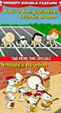 Snoopy Double Feature Vol. 1 (Youre the Greatest, Charlie Brown/Snoopys Reunion) [VHS]