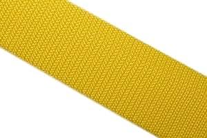 dalipo 19001 - Gurtband 20mm, gelb