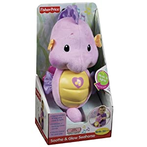 Fisher Price Ocean Wonders Soothe and Glow Seahorse, Pink