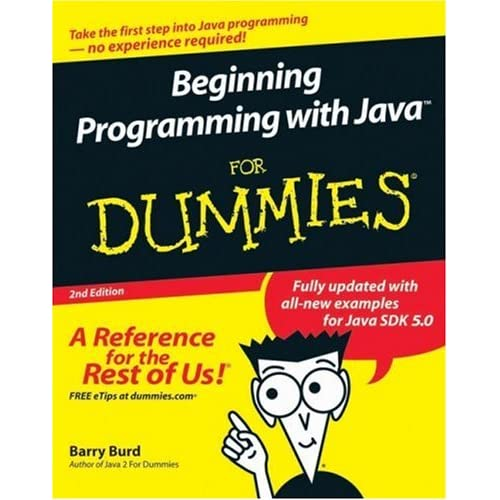 Beginning Programming with Java For Dummies (Repost)