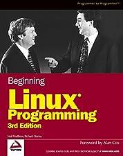 Beginning Linux Programming by Neil Matthew