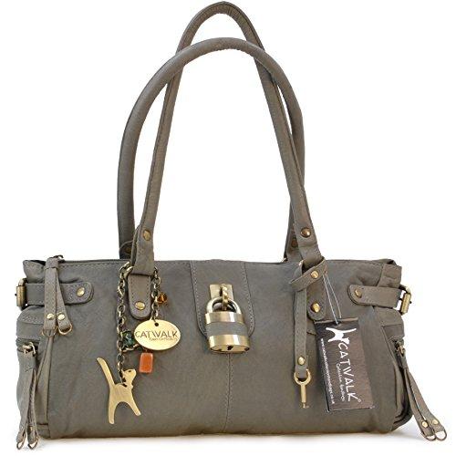 borsa-in-pelle-a-spalla-con-lucchetto-di-catwalk-collection-chancery-grigio