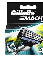 Gilette Set Hojas De Afeitado 4 Uds. Mach3