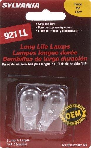 Sylvania 921 Ll Long Life Miniature Lamp, (Pack Of 2)