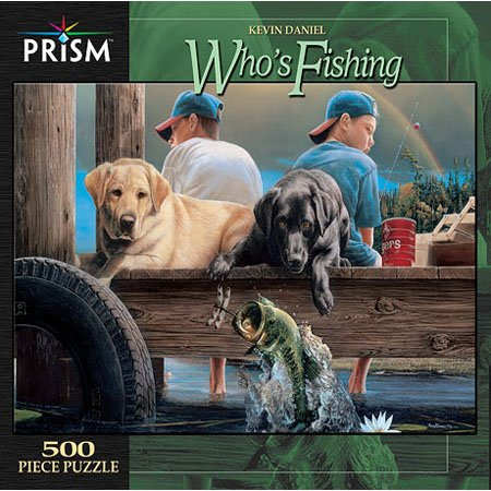 Cheap Prism Whos Fishing Jigsaw Puzzle 500pc (B000PCGPZW)