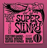 Ernie Ball 2223 Electric Guitar Strings Super Slinky